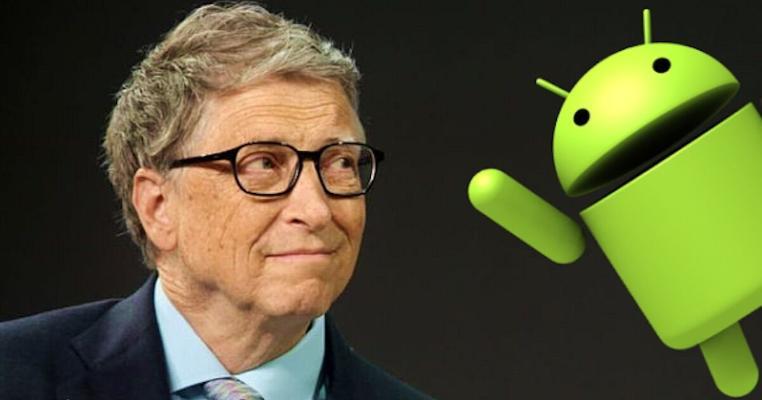 """Bil Geýts """"Android"""" smartfonlaryny has gowy görýändigini aýtdy"""