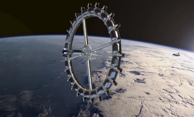 В 2025 году начнётся строительство первого космического отеля