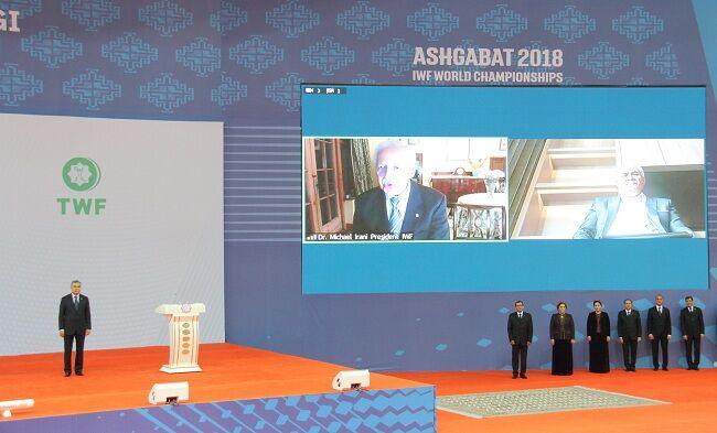 Глава государства наградил медалью «Гайрат» замминистра иностранных дел Туркменистана