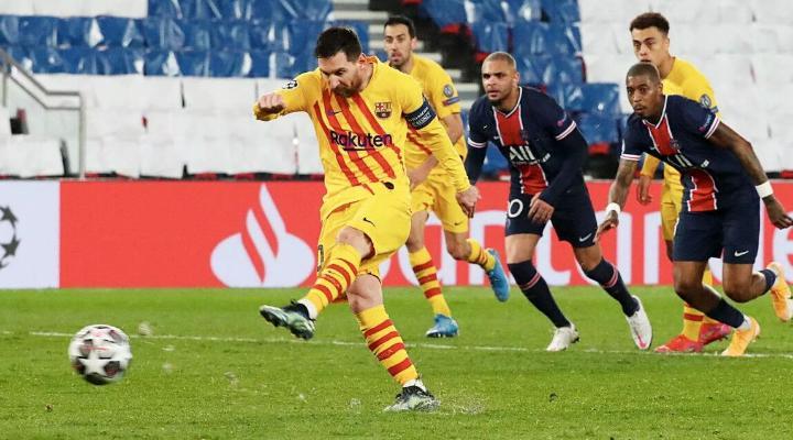 Çempionlar ligasynyň 1/8 finaly: «Barselona» ýaryşy terk edýär