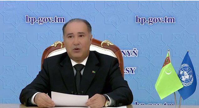 Генпрокурор Туркменистана Атдаев выступил на Конгрессе ООН по предупреждению преступности