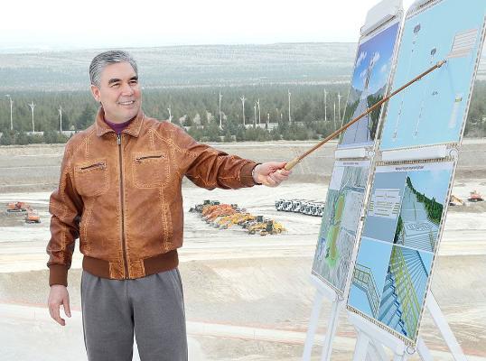 Türkmenistanyň Prezidenti Aşgabadyň günorta künjegine iş saparyny amala aşyrdy