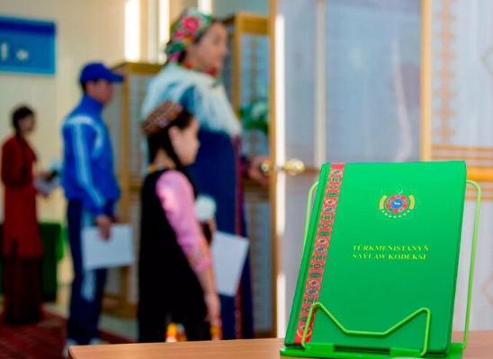 Все готово к первым выборам членов Халк Маслахаты Милли Генгеша Туркменистана