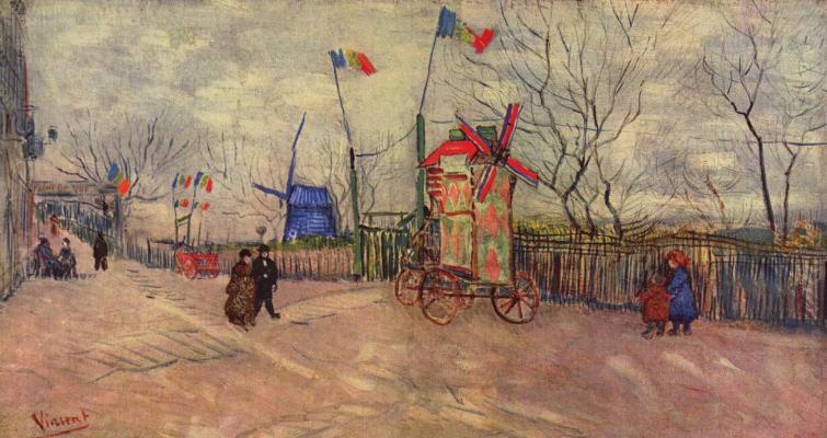 """Картина Ван Гога """"Уличная сцена на Монмартре"""" продана за $11 млн"""