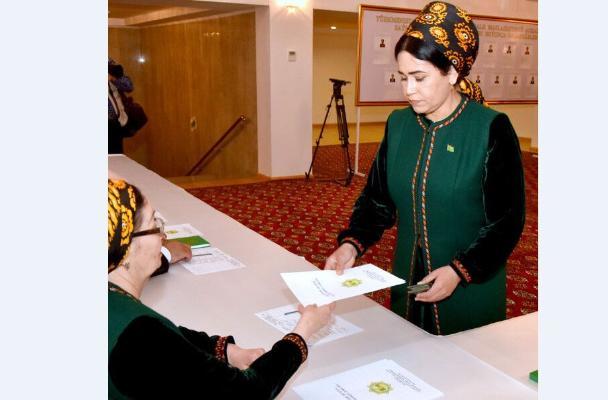 Прошли выборы членов Халк Маслахаты Милли Генгеша Туркменистана