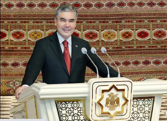 Президент Бердымухамедов избран членом Халк Маслахаты Милли Генгеша