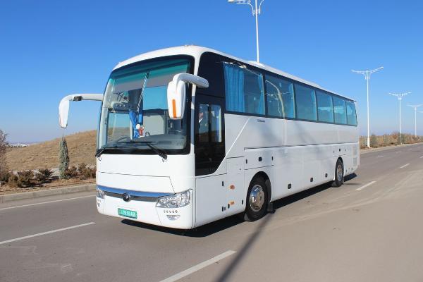 Türkmenistanda 3 ugur boýunça şäherara awtobus gatnawlary dikeldilýär
