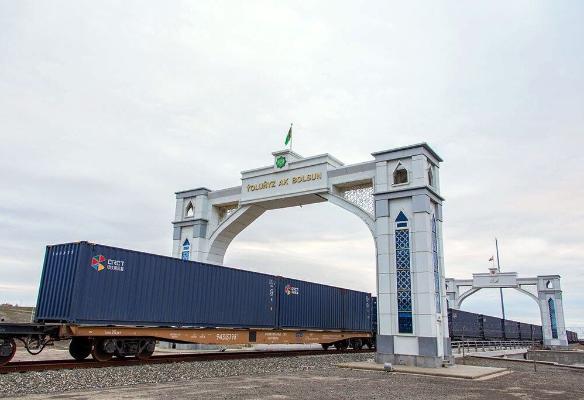 Türkmenistana Eýrandan eksport ýükli wagonlar gelip gowuşdy