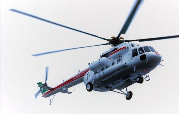 В Международный ожоговый центр в Ашхабаде доставлены вертолеты Ростеха