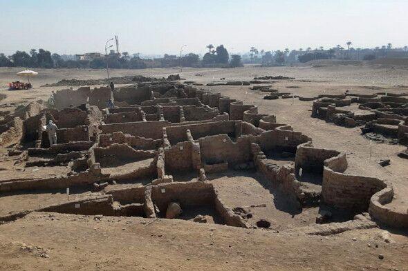 """В Египте раскопали исчезнувший """"Золотой город"""""""