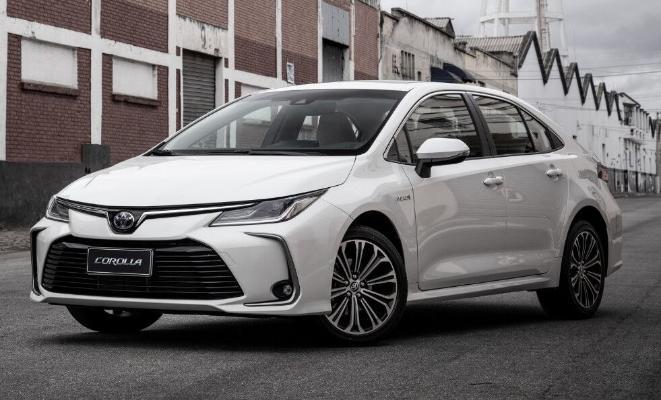 Самым продаваемым автомобилем в 2021 году стала Toyota Corolla
