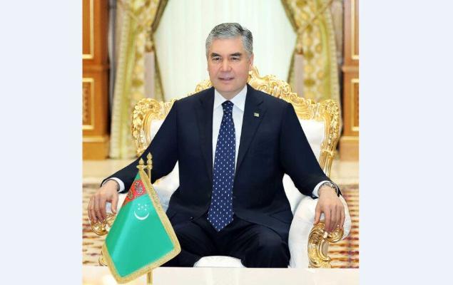Türkmenistanyň Prezidenti HHR-niň ilçisini kabul etdi
