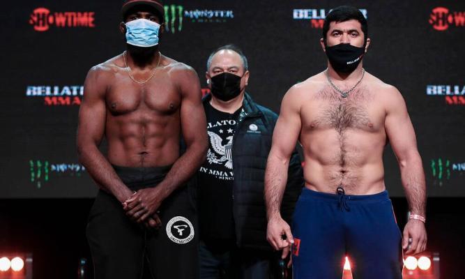 Ягшимурадов сделал вес накануне боя с Андерсоном