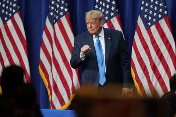 Tramp gaýtadan ABŞ-nyň Prezidenti bolmak isleýär