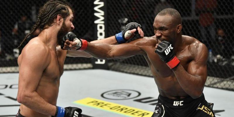Kamaru Usman Maswidaly ýeňip, UFC-niň çempiony titulyny gorady