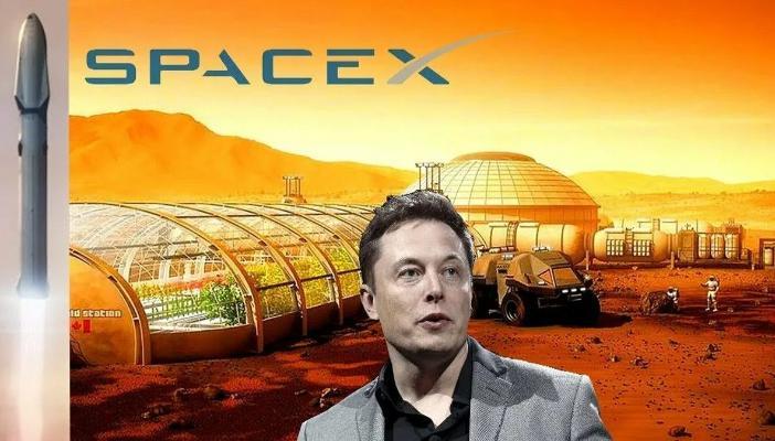 Илон Маск предлагает построить базу и город на Луне и Марсе