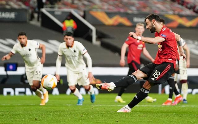 В 1/2 финала Лига Европы «МЮ» разгромил «Рому», уступая по ходу матча, «Арсенал» проиграл «Вильярреалу»