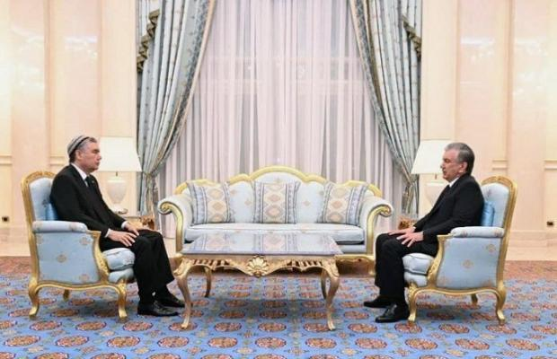 В Ашхабаде прошла встреча лидеров Туркменистана и Узбекистана