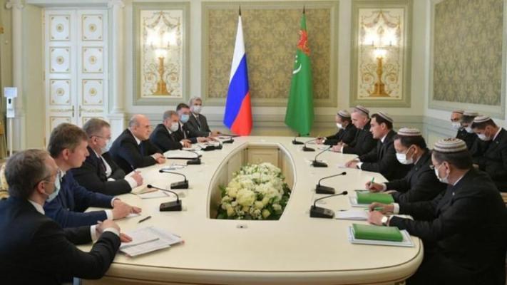Serdar Berdimuhamedow: Türkmenistan bilen Russiýanyň özara haryt dolanyşygy $1,3 mlrd-dan geçdi