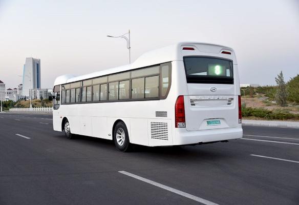 В Ашхабаде появится новый автобусный маршрут под номером 44