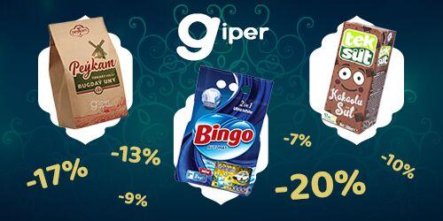 Интернет–магазин «Giper» объявляет скидки в честь месяца Рамадан