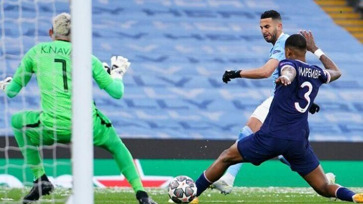 Дубль Мареза вывел «Манчестер Сити» в финал Лиги чемпионов