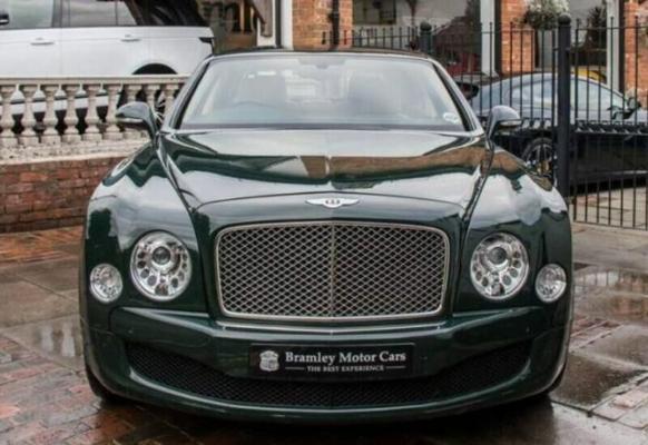 Beýik Britaniýanyň Şa zenanynyň Bentley-si tas 180 müň funt sterlinge satyldy