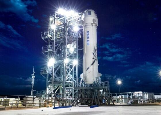 Blue Origin начала продавать билет в космос