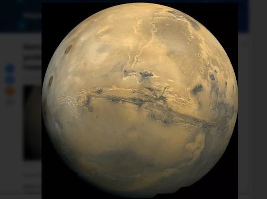 Hytaý ilkinji gezek Marsa baryp ýetdi