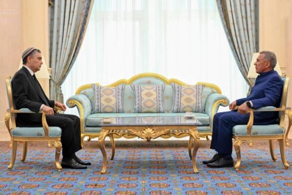 Президент Республики Татарстан совершил рабочий визит в Ашхабад