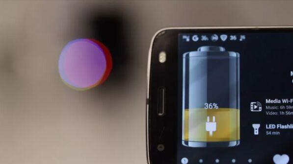 Motorola придумала технологию воздушной зарядки смартфонов