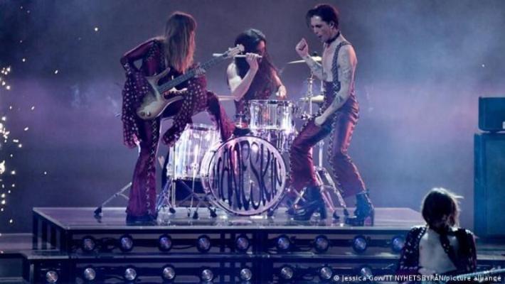 На «Евровидении-2021» победила итальянская рок-группа Måneskin