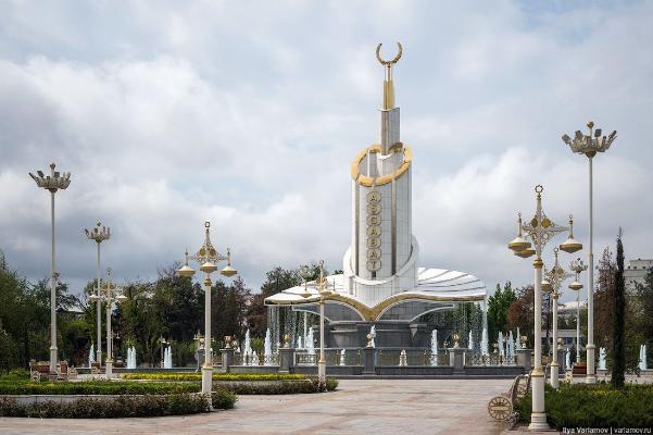 Архитектурные объекты Ашхабада, попавшие в Книгу рекордов Гиннесса