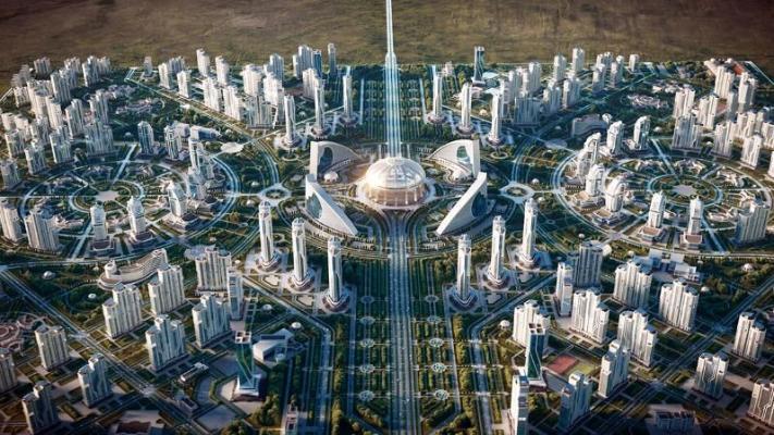 Президент Туркменистана дал старт строительству «Ашхабад-сити»