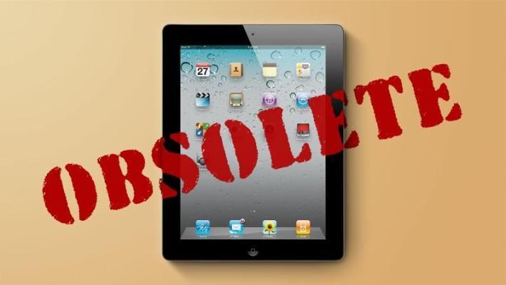 Apple официально признал iPad 2 устаревшим во всем мире