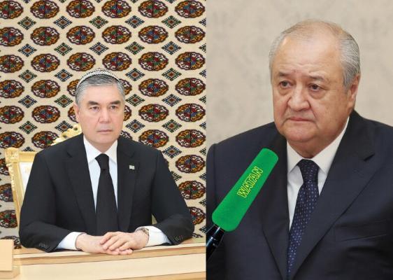 Türkmenistanyň Prezidenti Özbegistanyň DIM-niň ýolbaşçysyny kabul etdi
