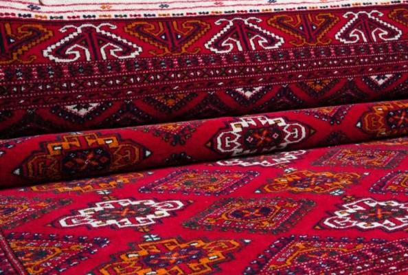 Туркменский ковер — непостижимая красота