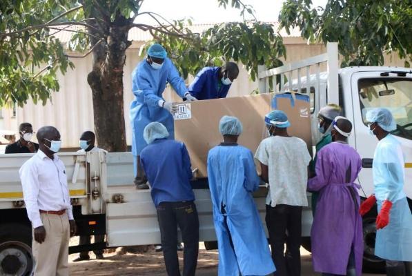 BSGG Afrika üçin 20 million doza sanjym soraýar