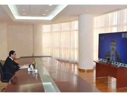 Обсуждены пути взаимодействия Туркменистана с Международной организацией по миграции