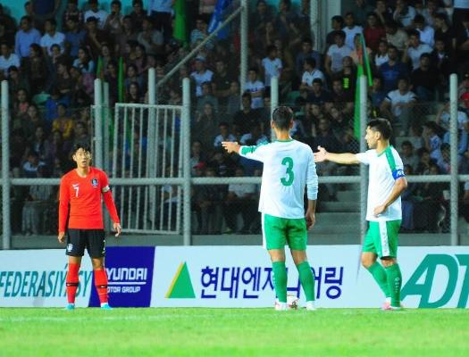 Завтра состоится матч между сборными Южной Кореи и Туркменистана