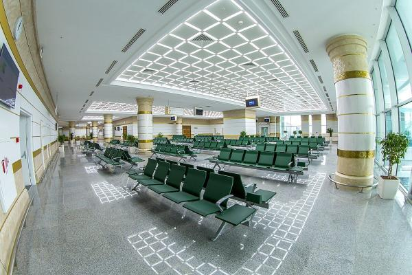 В Международном аэропорту Туркменабата возобновили полёты в Туркменбаши
