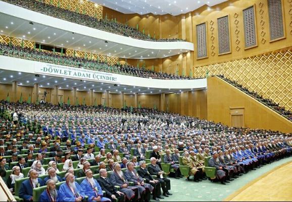 Состоялось заседание Халк Маслахаты Милли Генгеша Туркменистана