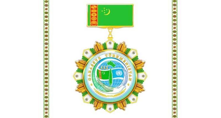 «Türkmenistanyň Garaşsyzlygynyň 30 ýyllygyna» atly Türkmenistanyň ýubileý medaly döredildi