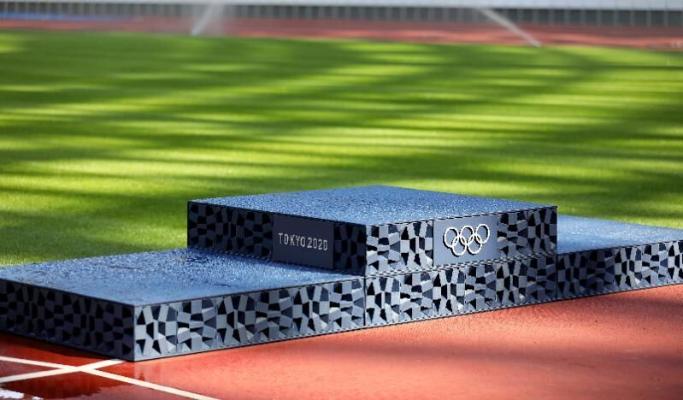 В Токио представили дизайн Олимпийских пьедесталов