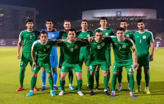 Türkmenistan DÇ-2022-niň saýlama tapgyryny Liwany ýeňip tamamlady