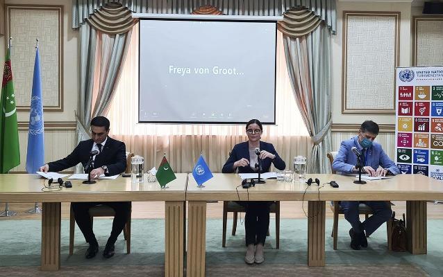 В Туркменистане открылось Представительство Управления ООН по обслуживанию проектов