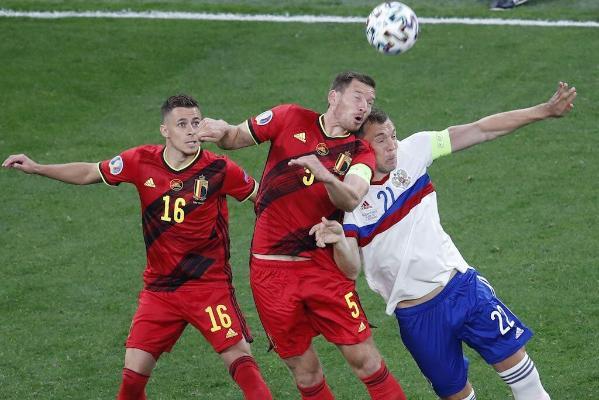 ЕВРО-2020: Белгия разгромила Россию, Уэльс и Швейцария сыграли вничью