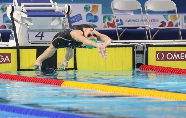 Awstraliýaly Makkeon 100 m aralyga arkanlygyna ýüzmekde dünýä rekordyny goýdy