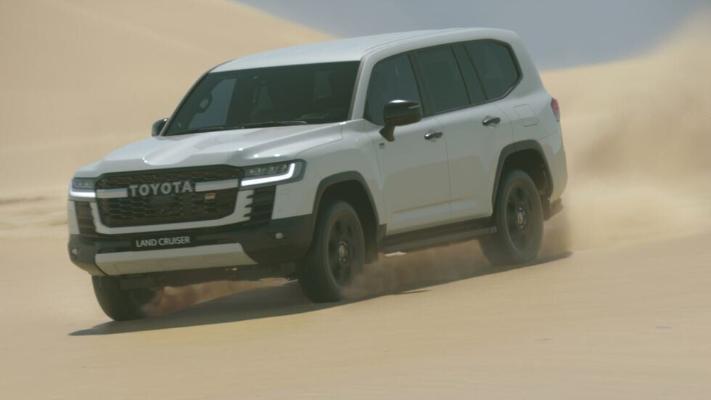 Новый Toyota Land Cruiser 300 примет участие на ралли «Дакар» в 2023 году