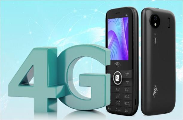 Представлен кнопочный телефон c 4G и функцией Wi-Fi-роутера